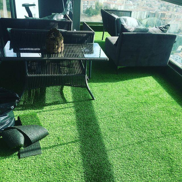 balkon çim halı