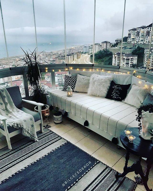 yeni balkon dekorasyon
