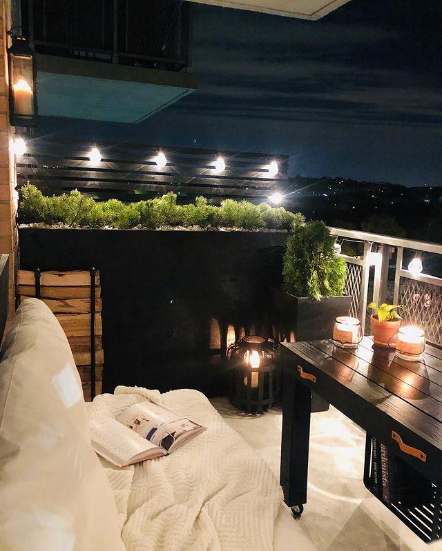 siyah balkon duvar boyası