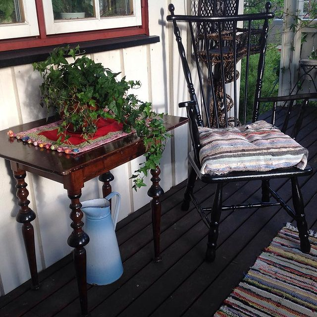 Rustik Balkon mobilyalar