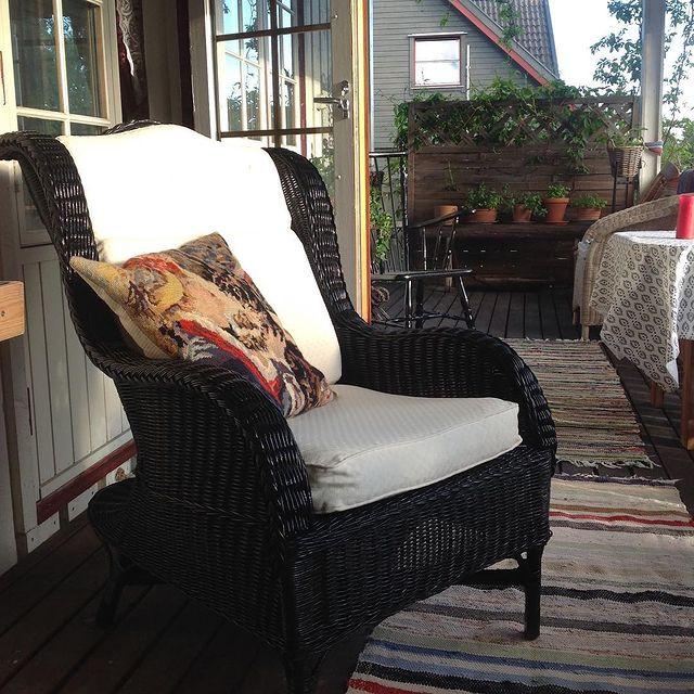 Rustik Balkon sandalye