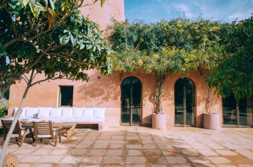 Minderli Balkon Dekorasyonu